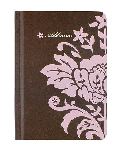 Sello 11,43 cm x cm 16,51 agenda Floral (flores de color ...