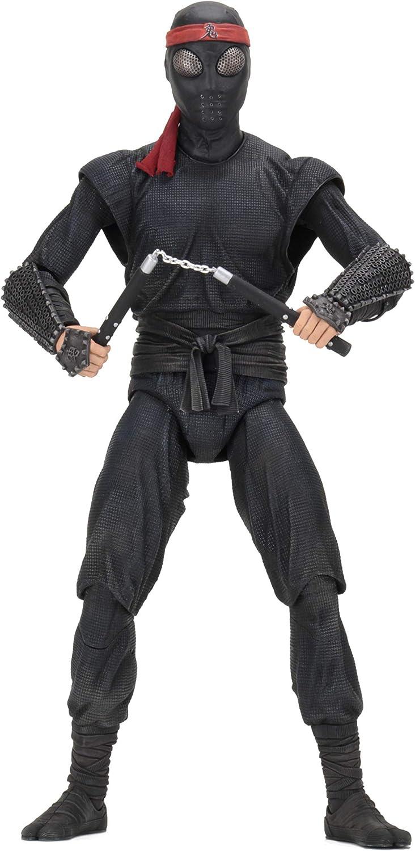 Neca tmnt statuina gigante soldato del piede foot soldier scala 1/4 action figure teenage mutant ninja turtles 54071