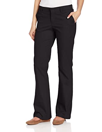 1c4bd4d37f5 Dickies Women s Flat Front Stretch Twill Pant at Amazon Women s ...