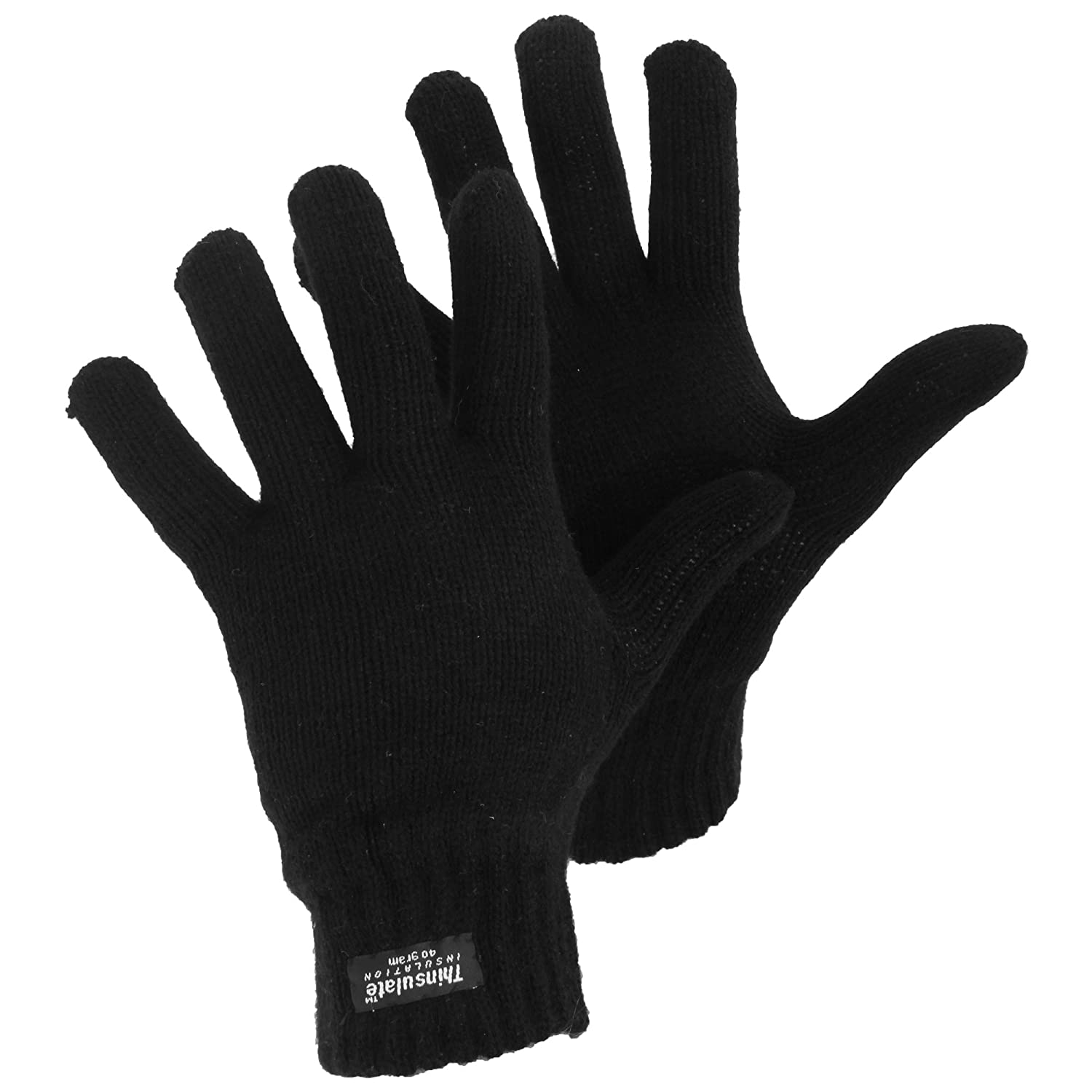 Womens/Ladies Thinsulate Thermal Knitted Winter Gloves UTGL572_1