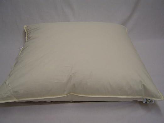 70 x 90 cm cojín de plumas y Funda de almohada de relleno de ...
