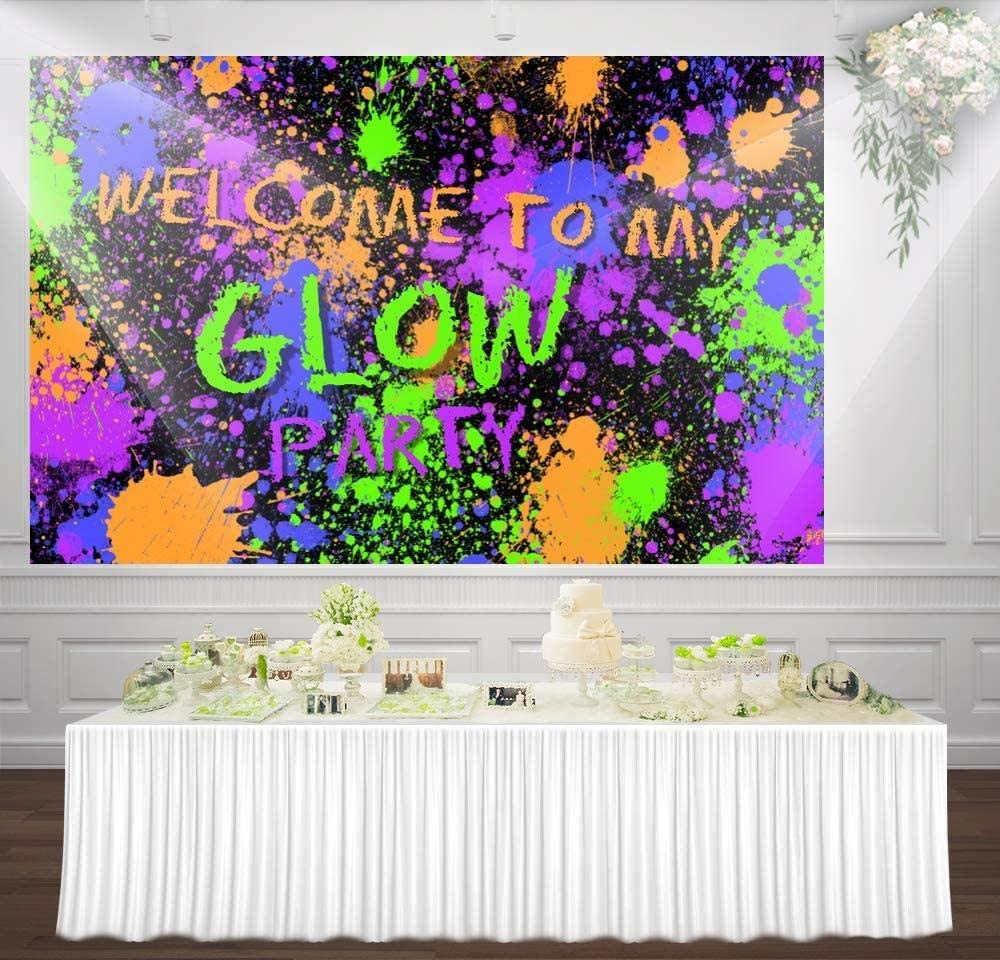 New 7x5ft Custom Happy Birthday Gold Balloons Glitter dots Photography Backdrop Background Adult Childrens Party Banner hz-1102