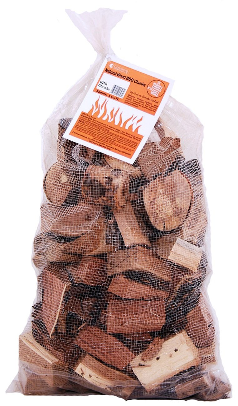 All Natural Barbecue Smoker Chunks 5 Pound Bag Maple Camerons Products Smoking Wood Chunks Kiln Dried BBQ Large Cut Chips