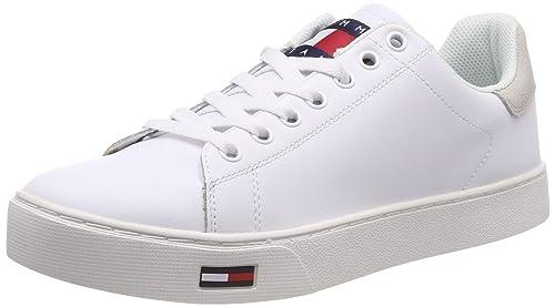 premium selection a9540 ebc96 Hilfiger Denim Essential Tommy Jeans Sneaker, Scarpe da Ginnastica Basse  Uomo