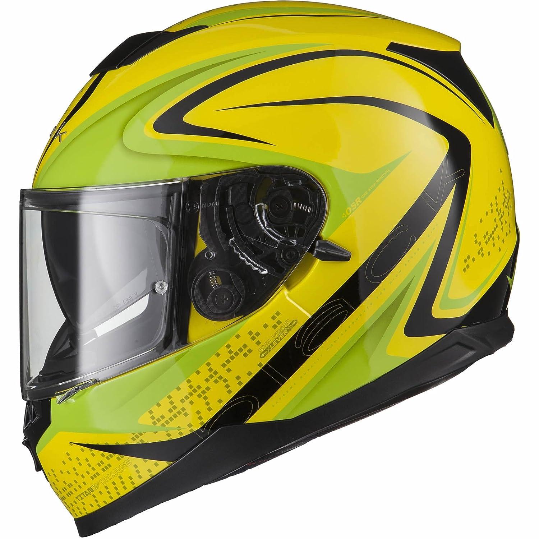 Black Titan SV Charge Motorcycle Helmet