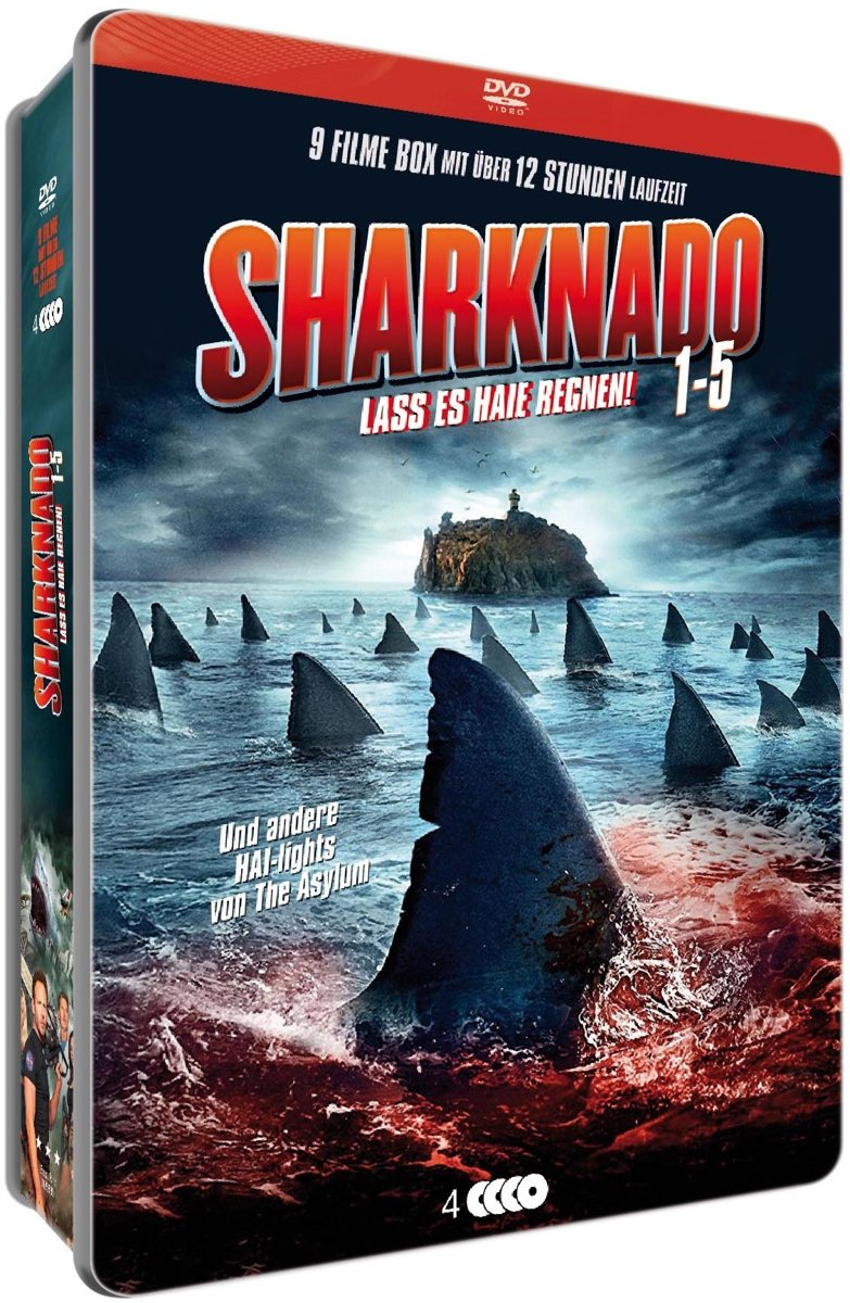 Sharknado 1-5 Limited-Metallbox Collection - Uncut Alemania DVD ...