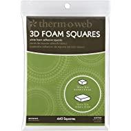 Thermoweb Foam Squares Combo Pack 440/Pkg, White