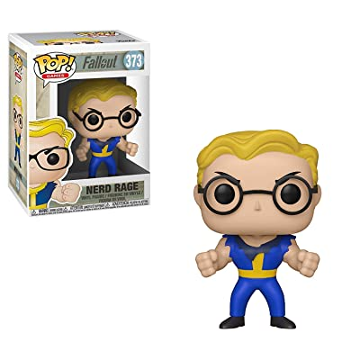 Funko Pop! Games: Fallout - Vault Boy (Nerd Rage), Standard, Multicolor: Toys & Games