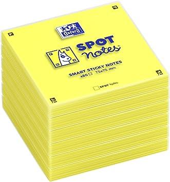 400 Blatt tesa Office Notes gelb praktisch Haftnotizen Schreibwaren Notizwürfel