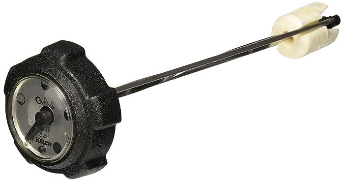 Stens 125-120 Fuel Cap Replaces With Gauge John Deere AM39206 Exmark 1-513508 Toro 1-513508 Exmark 1-303284 Dixie Chopper 40222 Exmark 1-543365