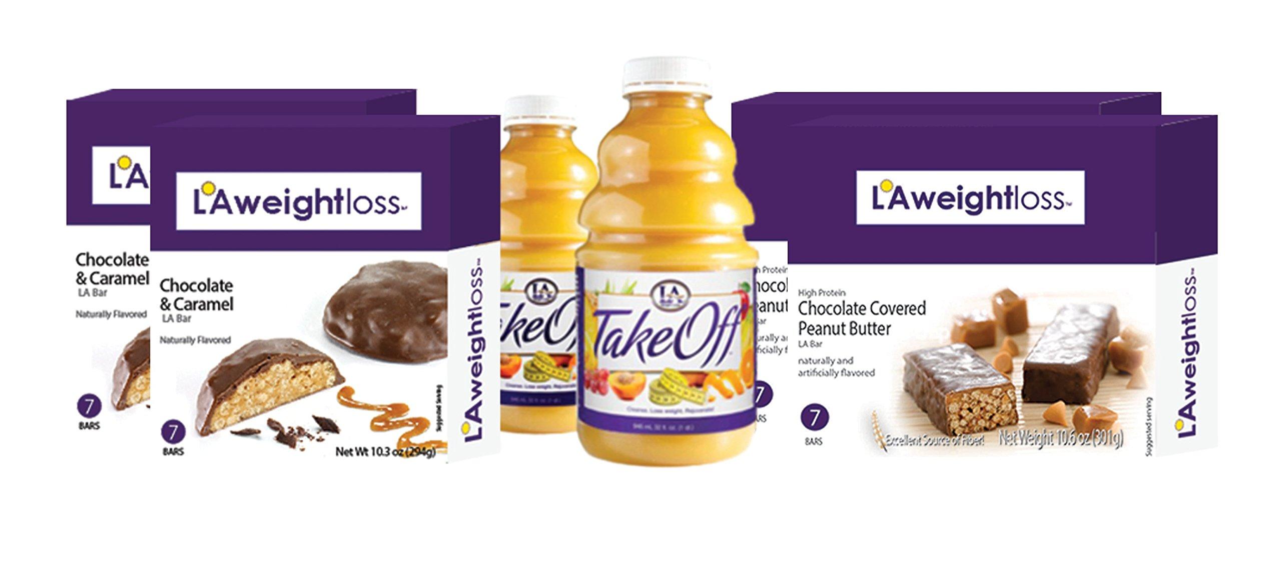 LA Weight Loss Combo Pack - LA Bars & TakeOff Cleanse