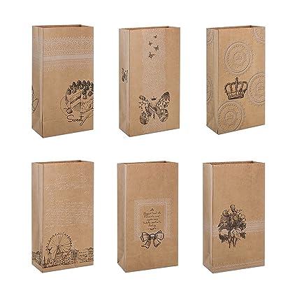 Zhi Jin 20pcs especial de grosor papel Kraft bolsas de ...