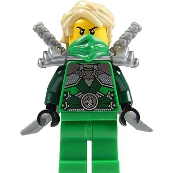 LEGO Ninjago: Lloyd Garmadon (green ninja) Minifigure with ...