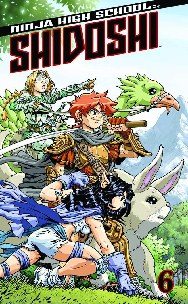 NHS: Shidoshi Pocket Manga Volume 6: v. 6 Ninja High School ...