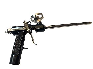 Pistola de espuma, pistola de espuma de construcción, pistola de espuma de poliuretano, pistola dosificadora de metal: Amazon.es: Bricolaje y herramientas