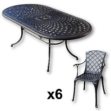 Lazy Susan - Conjunto de mobiliario de jardín mesa modelo Catherine ...