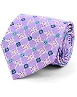 Men's Geometric Kaleidoscope Woven Tie