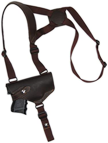 Barsony New Brown Leather Shoulder Holster