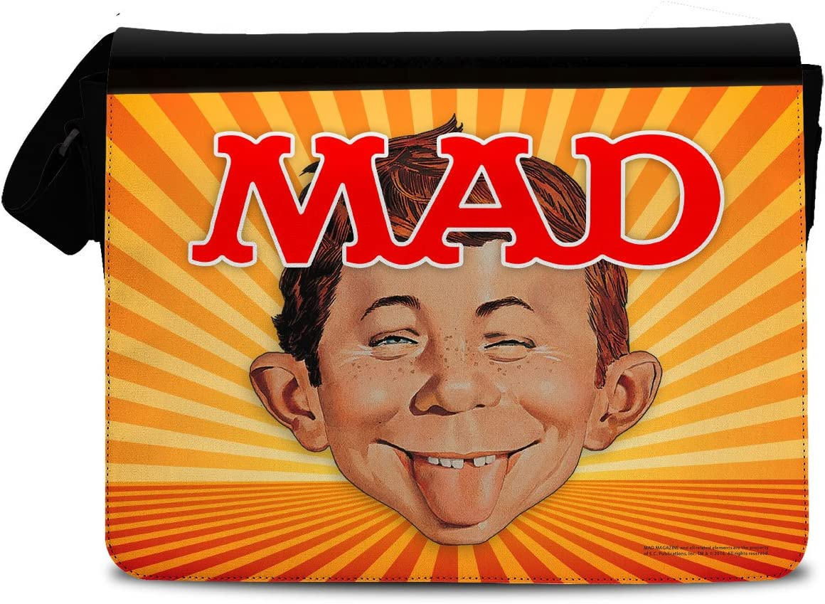 Messenger Sac Officiellement Sous Licence Mad Magazine Sac bandouliere
