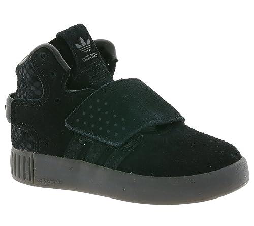 adidas - Zapatillas Altas Unisex, para niños, Color Negro, Talla 25 EU: Amazon.es: Zapatos y complementos