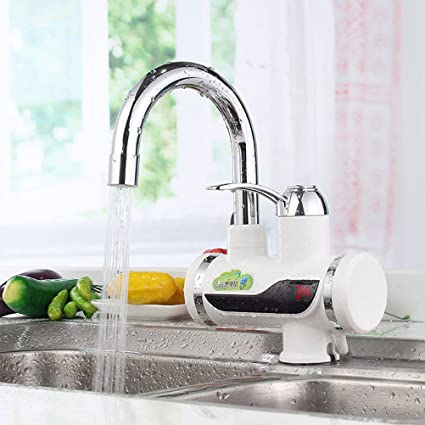 Fauce eléctrico grifo de calefacción instantánea para cocina y baño, radiador eléctrico frío y caliente