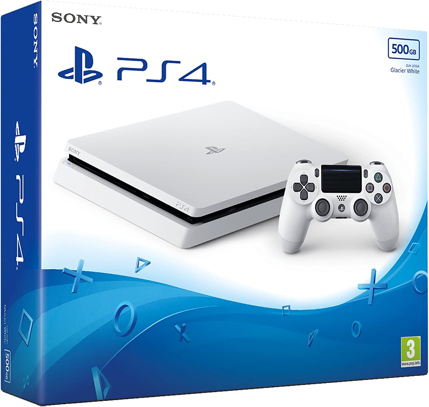 Sony Playstation 4 500 GB - White (PS4) [Importación Inglesa]: Amazon.es: Videojuegos