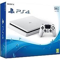 Sony PlayStation 4 Slim - 500GB, 1 Controller, Glacier White