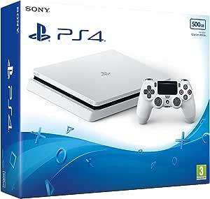 Sony PlayStation 4 Slim 500GB Console - Glacier White