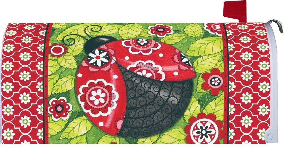Custom Decor Patterned Ladybug Mailbox Cover