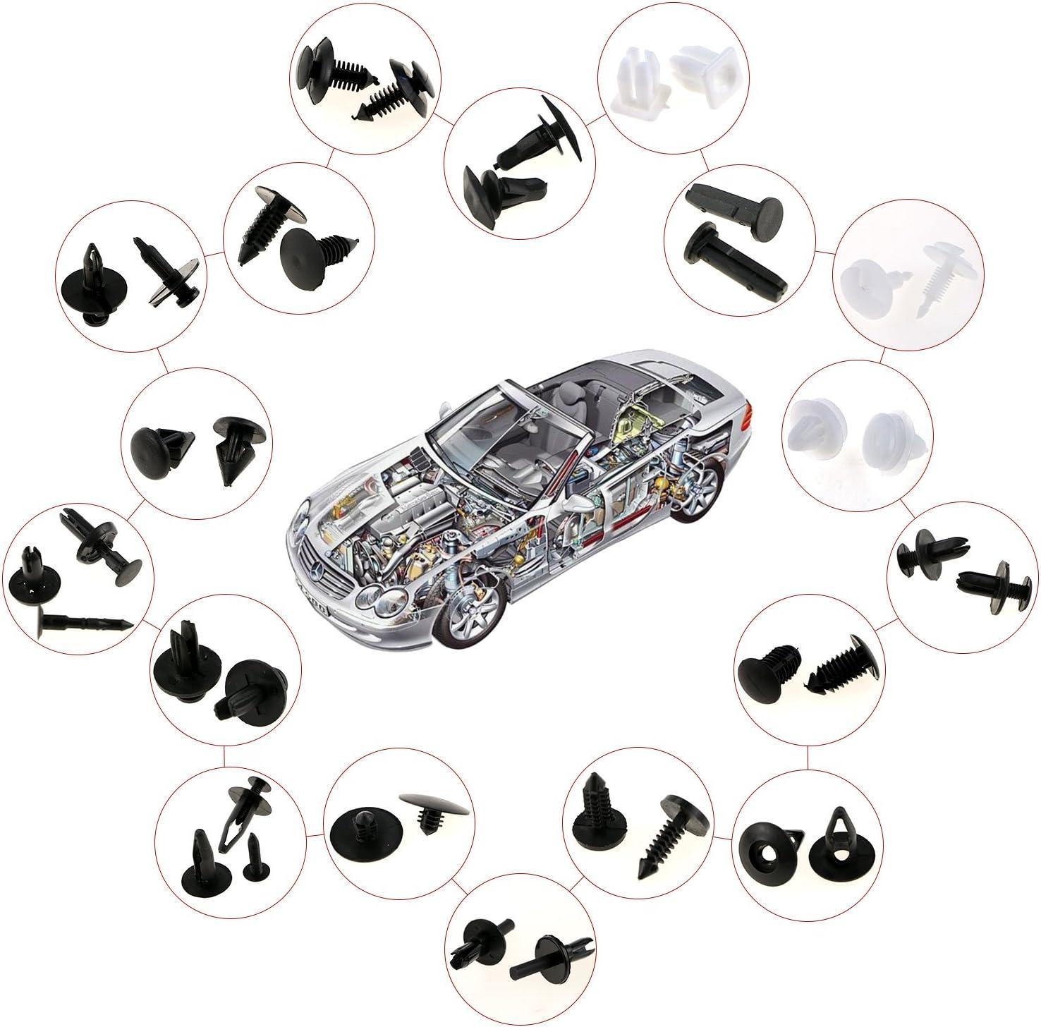 Fixget 425 Points de Fixation Tools Zexuan pour Garnitures Car Clips