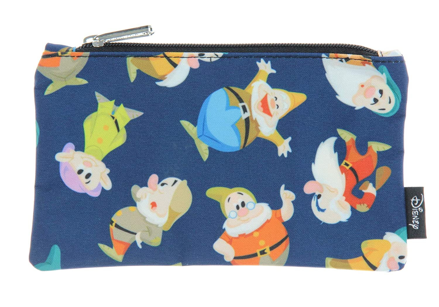 Loungefly Disney Snow White Seven Dwarfs All Over Print School Pencil Case