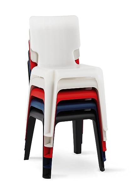 Authentics Chaise en plastique  Amazon.fr  Cuisine   Maison 09152c0c061c