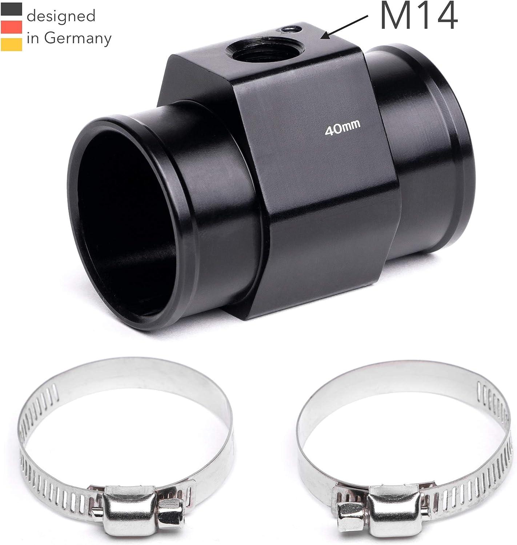 26mm 36mm, 75/° // 70/° M14 40mm Elektrischer K/ühlerl/üfter Schalter Thermoschalter Temperaturschalter Adapter