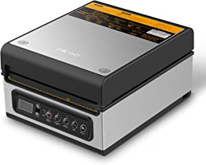 wevac Chamber Vacuum Sealer, CV10, Ideal for Liquid or Juicy Food Including Fresh Meats, Soups, Sauces and Marinades. Compact Design, Heavy Duty, Professional Sealing Width, Commercial Machine
