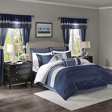 Westmont 24 Piece Room In A Bag Navy King