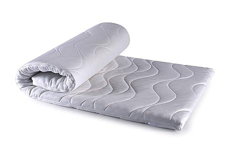BLUE MOON Topper Matratze GREENFIRST® 180 x 200 cm mit Schutz vor Milben/Mücken! hoher Schlafkomfort! perfekt für Allergiker!