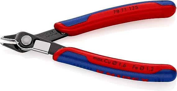 Pince de pr/écision Electronic Super Knips /à serre-fil Knipex 78 71 125