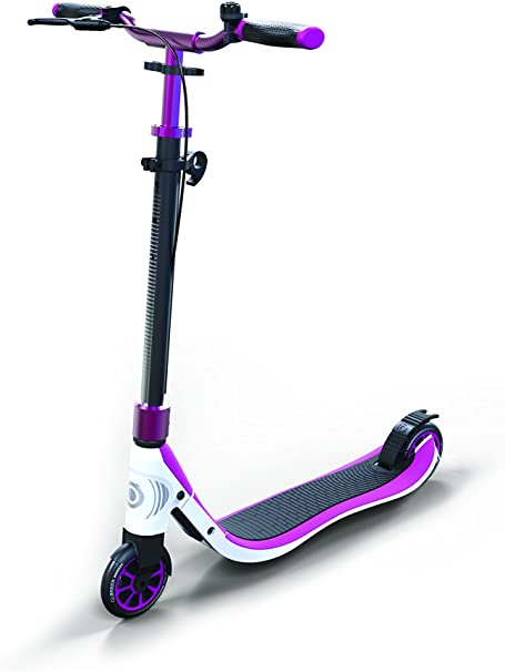 Globber One Nl 125 Deluxe 476-101 Titanium - Purple - White