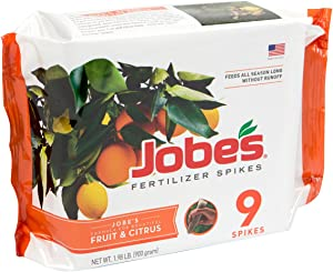 Jobe's 01312 1312 Fertilizer, 9 Spikes