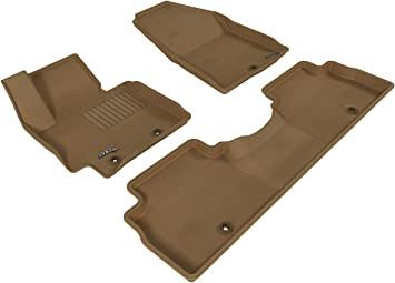 Gray Kagu Rubber 3D MAXpider Complete Set Custom Fit All-Weather Floor Mat for Select Kia Soul Models