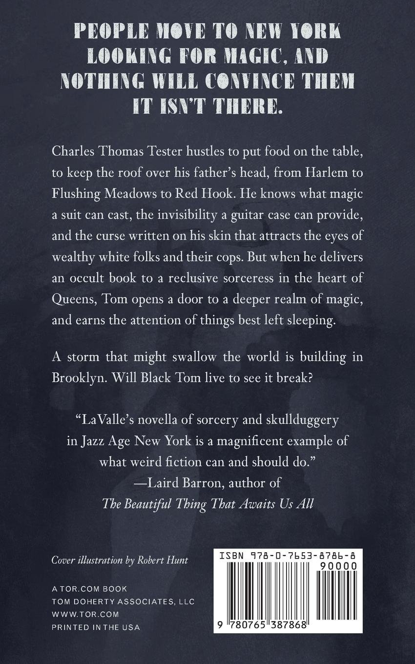 The Ballad Of Black Tom: Victor Lavalle: 9780765387868