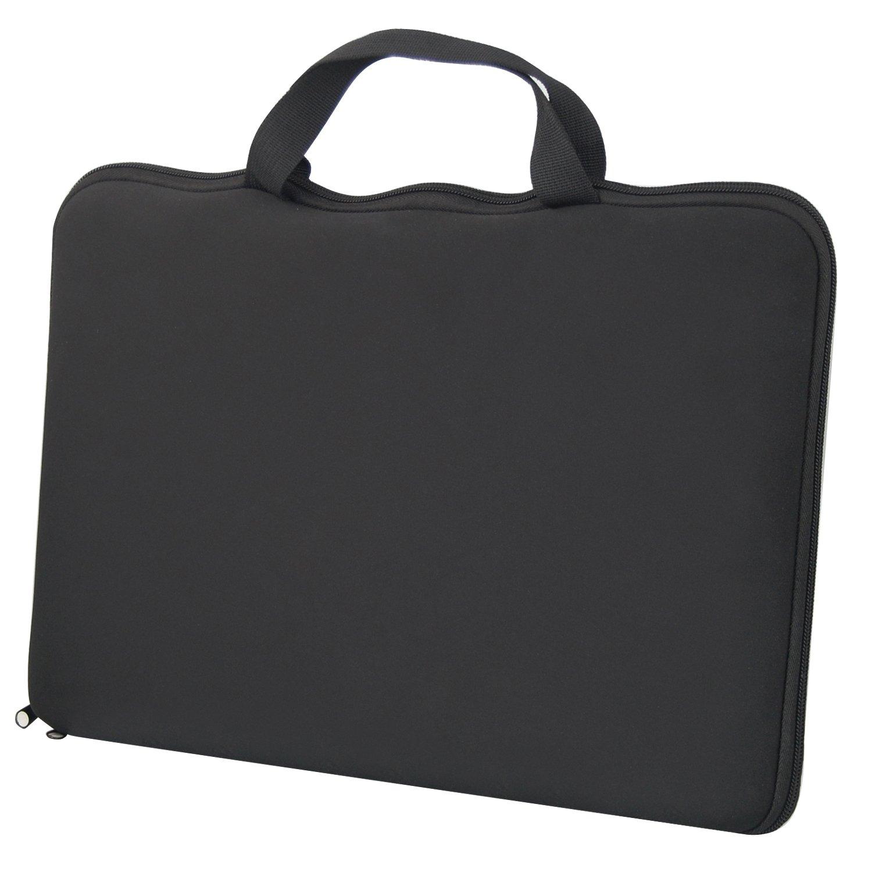 TRIXES 15,6 Elegante Bolsa y Funda Negra Proteger Ordenador Portátil Sony Dell HP: Amazon.es: Electrónica