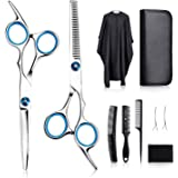 Tomight Hair Scissors Set, Professional Hair Cutting Scissors Kit, 6.7 Inch Hairdressing Scissors with 3 Combs, Haircut…