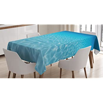 Amazon Com Ambesonne Xray Flower Decor Tablecloth Unusual Image Of