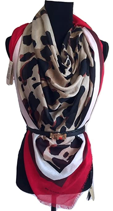 1477a128c9ba Foulard Burberry Women - Modal (3955730)  Amazon.co.uk  Clothing