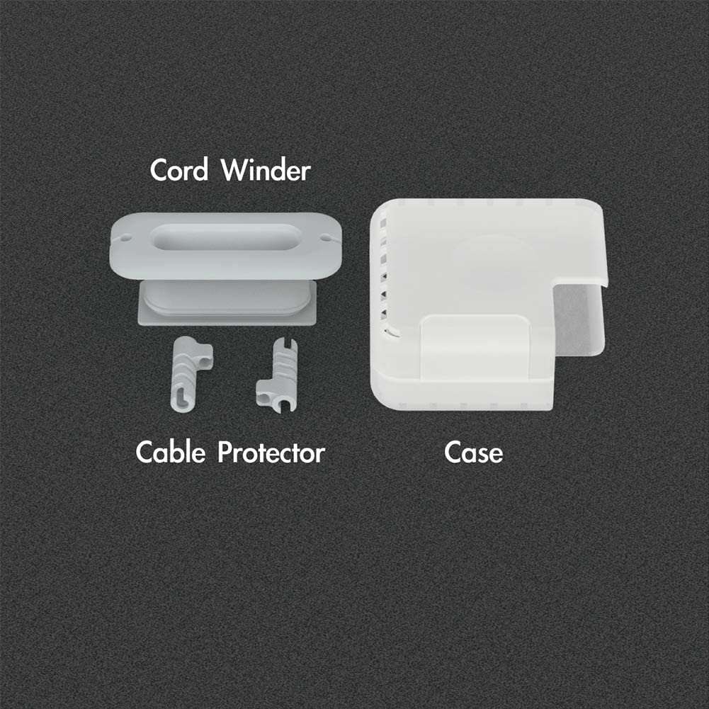 Travel Cord Organizer Compatible with Apple MacBook Charger 13 Protective Case for Magsafe USB C Power Adapter 61W 65W Mac Charging Cable Management Cord Winder MacBook Pro Accessories 13 Inch