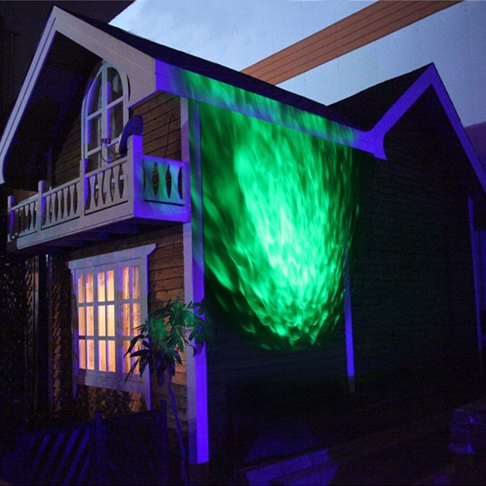 Amazon.com: StarLight Outdoor Ripple Effect Light Projector with 7 ...