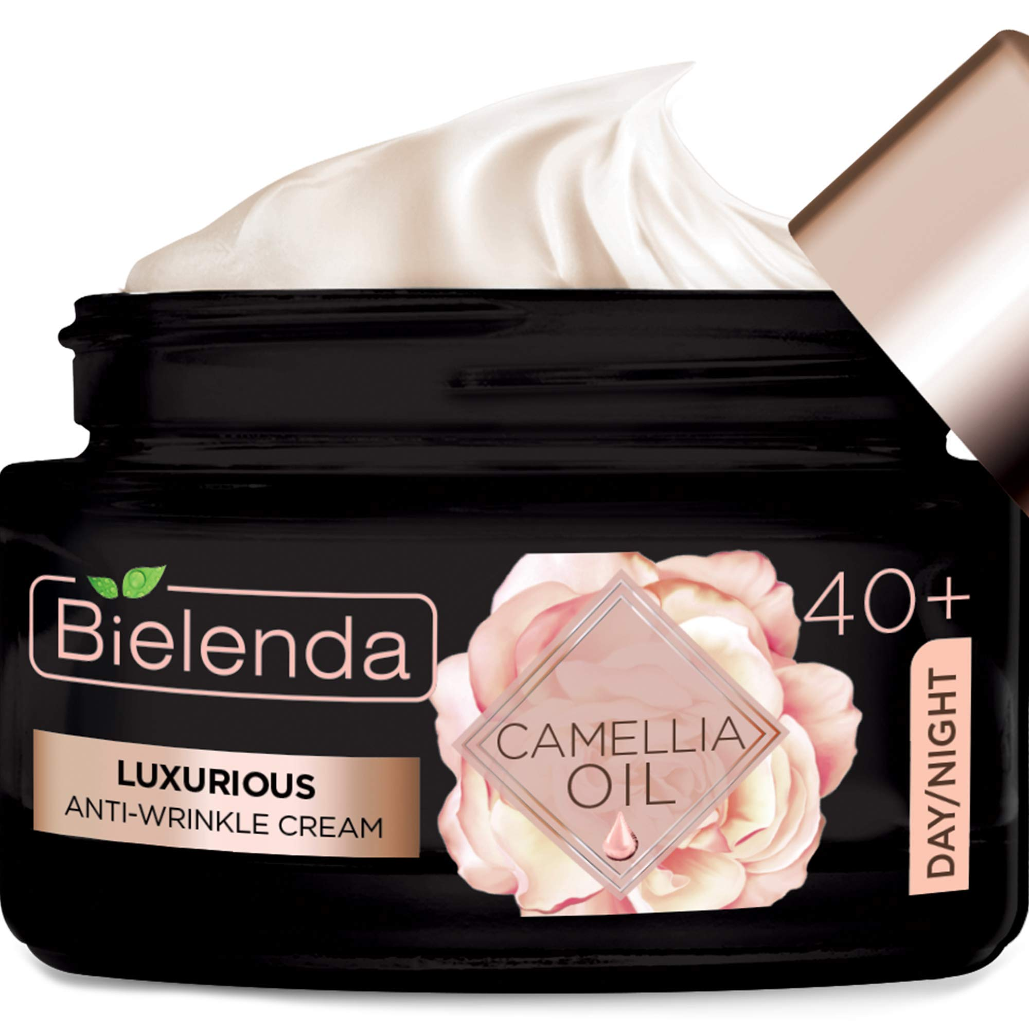 Bielenda CAMELLIA OIL Luxurious anti-wrinkle cream 40+ day/night, 50 ml