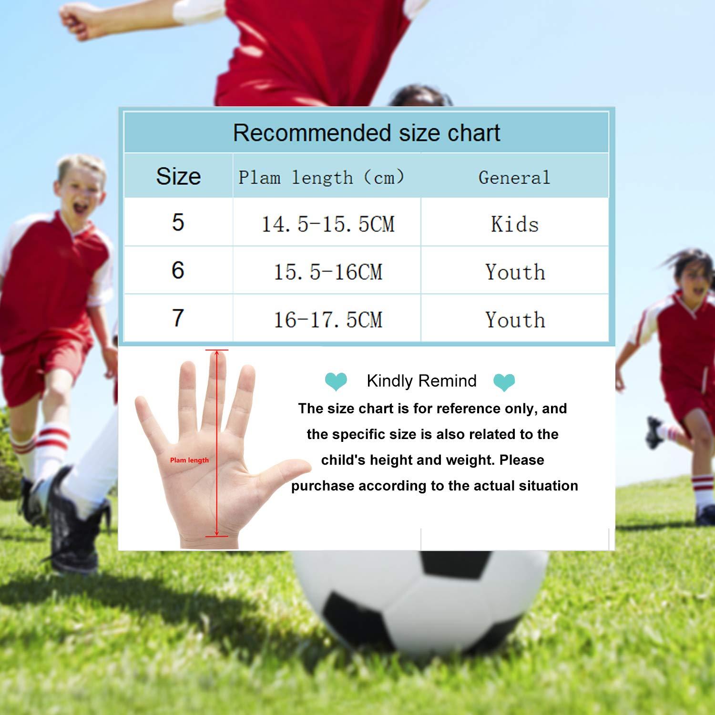 Sportout Kids Jugend Torwarthandschuhe Jungen und M/ädchen Trainingshandschuhe