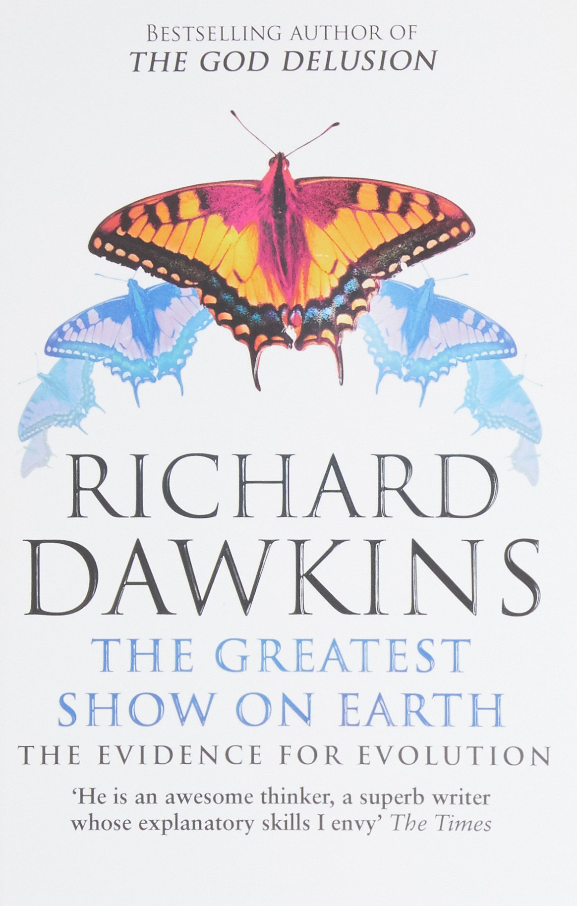 The greatest show on earth the evidence for evolution audiobook